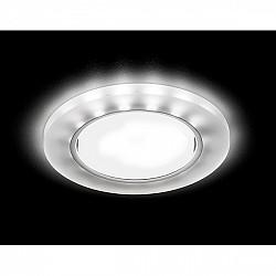 Точечный светильник Gx53+led G214 CH/WH