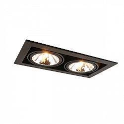 Точечный светильник Cardani Semplice A5949PL-2BK
