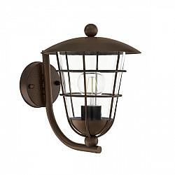 Настенный фонарь уличный Pulfero 1 94854