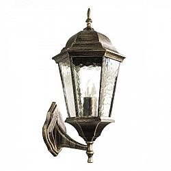 Настенный фонарь уличный Genova A1201AL-1BN