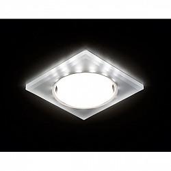 Точечный светильник Gx53+led G215 CH/WH
