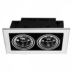 Точечный светильник Cardani Medio A5930PL-2SI
