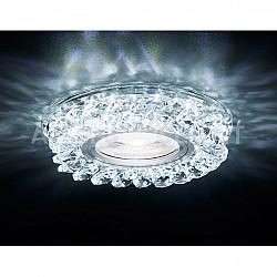Точечный светильник Декоративные Кристалл Led+mr16 S257 CH