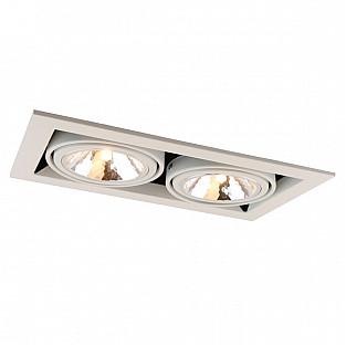 Точечный светильник Cardani Semplice A5949PL-2WH