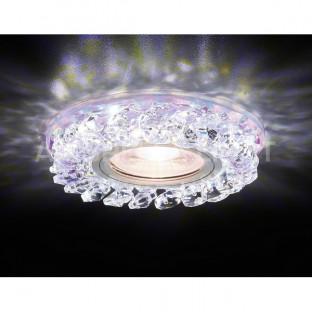Точечный светильник Декоративные Кристалл Led+mr16 S257 PR