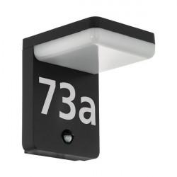 Настенный светильник уличный Amarosi 98092 адресная табличка на дом