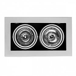 Точечный светильник Cardani Medio A5930PL-2WH