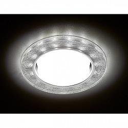 Точечный светильник Gx53+led G248 W/CH