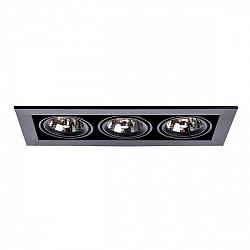 Точечный светильник Cardani Medio A5930PL-3BK