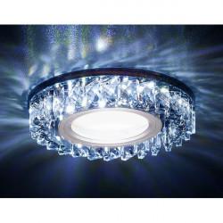 Точечный светильник Декоративные Кристалл Led+mr16 S255 BK