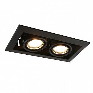 Точечный светильник Cardani Piccolo A5941PL-2BK