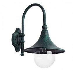 Настенный фонарь уличный Malaga A1082AL-1BG