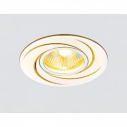 Точечный светильник Алюминий С Узором A506 AL/G