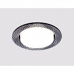 Точечный светильник Gx53 Классика G818 BK