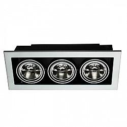 Точечный светильник Cardani Medio A5930PL-3SI