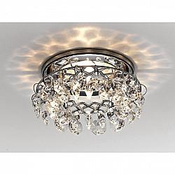 Точечный светильник Хрусталь С Подвесами K7070 CL/CH
