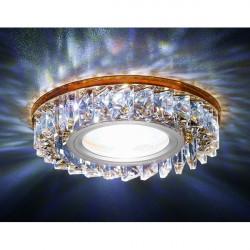 Точечный светильник Декоративные Кристалл Led+mr16 S255 BR