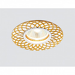 Точечный светильник Алюминий С Узором A815 AL/G