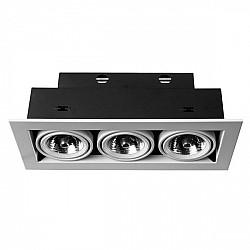Точечный светильник Cardani Medio A5930PL-3WH