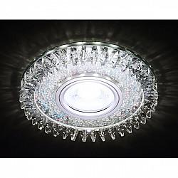 Точечный светильник Декоративные Кристалл Led+mr16 S389 CH