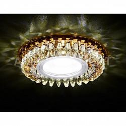 Точечный светильник Декоративные Кристалл Led+mr16 S220 BR