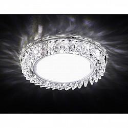 Точечный светильник Gx53+led G255 CH