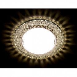 Точечный светильник Gx53 Led G298 CL/WW