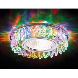 Точечный светильник Декоративные Кристалл Led+mr16 S255 CH/M
