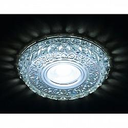 Точечный светильник Декоративные Кристалл Led+mr16 S393 CH