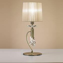 Интерьерная настольная лампа Tiffany Cuero 3888