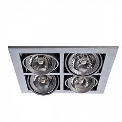 Точечный светильник Cardani Medio A5930PL-4SI
