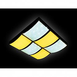 Потолочный светильник Crystal Sand FS1510 WH/SD 144W D540*540
