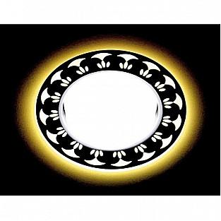 Точечный светильник Gx53 Led G433 WH/WW