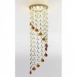 Точечный светильник Хрусталь С Подвесами K3440 CL/BR/G