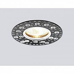 Точечный светильник Алюминий С Узором A801 BK/AL