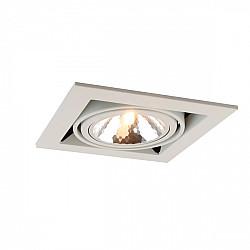 Точечный светильник Cardani Semplice A5949PL-1WH