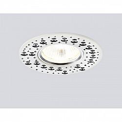 Точечный светильник Алюминий С Узором A801 W