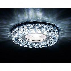 Точечный светильник Декоративные Кристалл Led+mr16 S257 BK