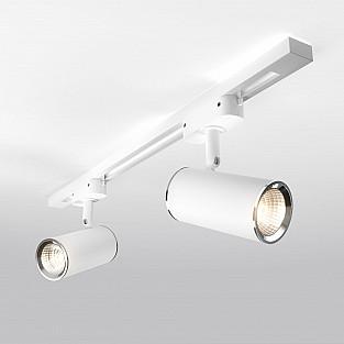 Трековый светильник для однофазного шинопровода Rutero GU10 Белый MRL 1002