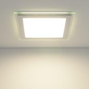 Встраиваемый потолочный светодиодный светильник DLKS200 18W 4200K белый