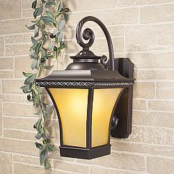 уличный настенный светильник Libra D венге (арт. GLXT-1408D)