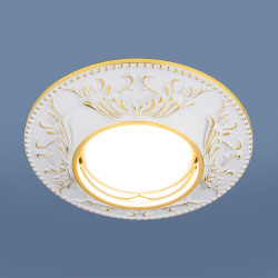 Точечный светильник 7217 MR16 WHG белый/золото