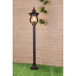 Barrel F черное золото уличный светильник на столбе GL 1025F