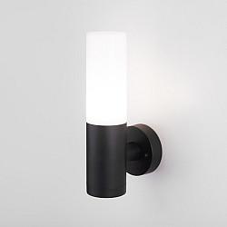 1418 TECHNO чёрный Настенный уличный светильник IP54 1418 TECHNO