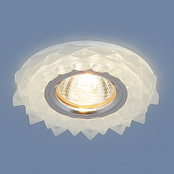Встраиваемый потолочный светильник с LED подсветкой 2209 MR16 Matt Ice матовый лед