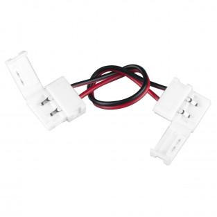 Коннектор для одноцветной светодиодной ленты 5050 гибкий двусторонний a035396