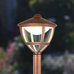 Gala F брауни уличный светодиодный светильник на столбе GL LED 3001F