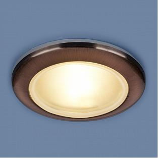 Влагозащищенный точечный светильник 1080 MR16 RAB медь