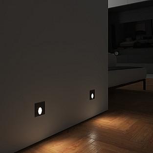 Подсветка для лестниц MRL LED 1102 чёрный