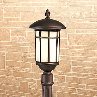 Lepus F кофейное золото уличный светильник на столбе IP44 GL 1016F